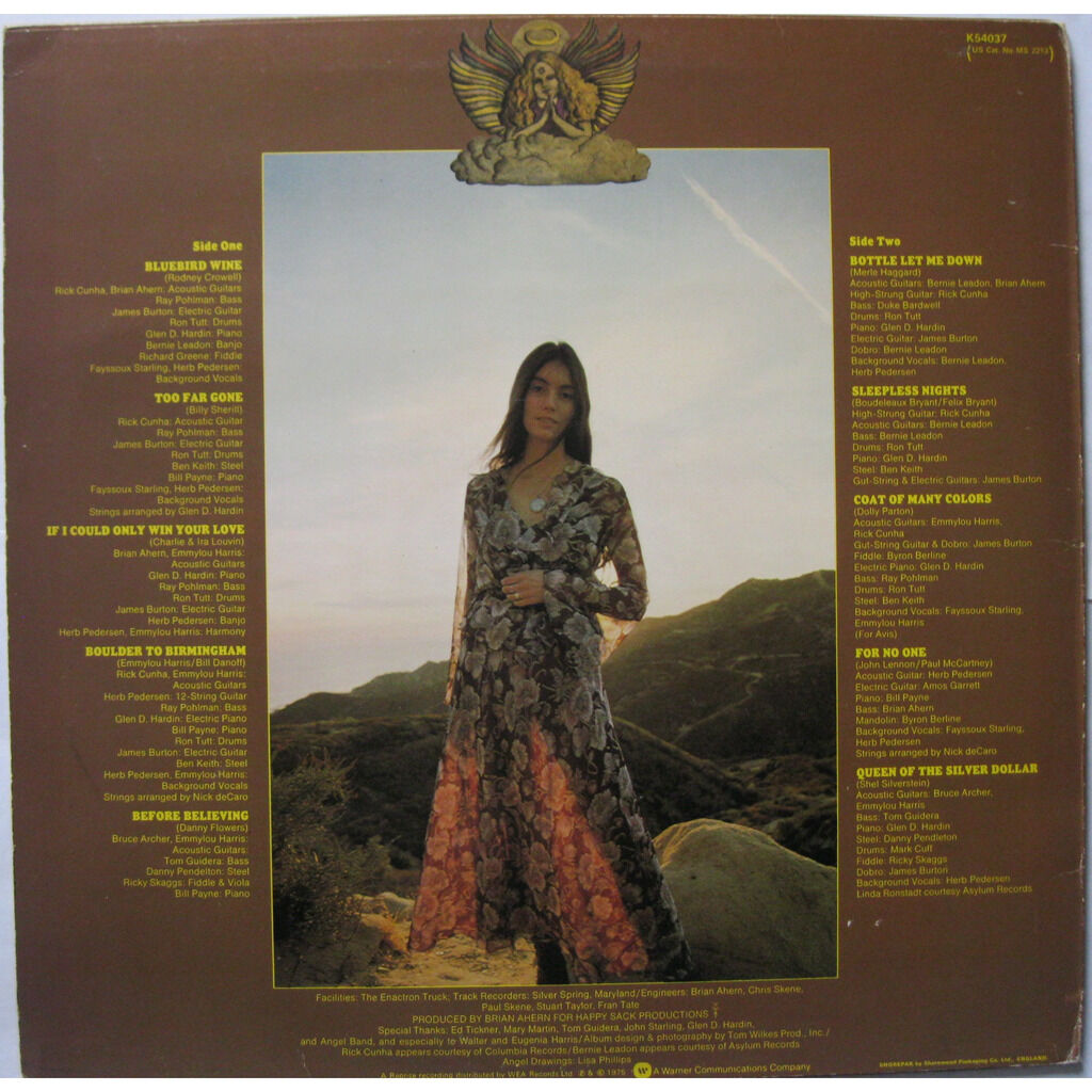 EMMYLOU HARRIS Pieces of the sky ( UK )