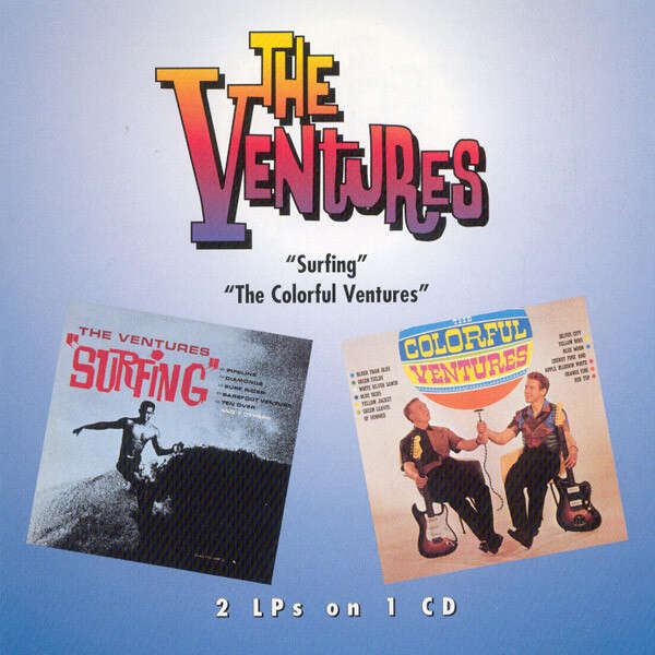 The Ventures Surfing / The Colorful Ventures