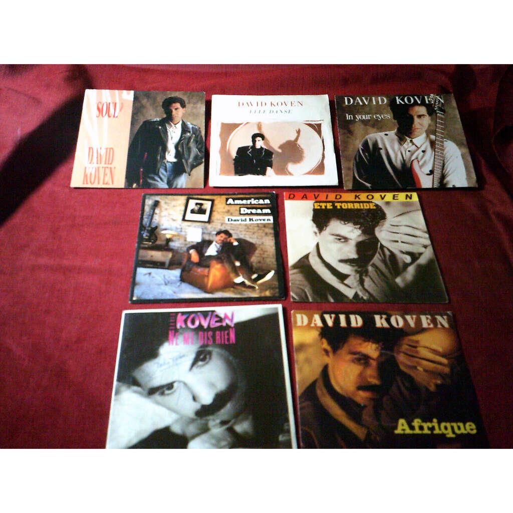 DAVID KOVEN DAVID KOVEN DE 7 / 45 TOURS DIFFERENTS