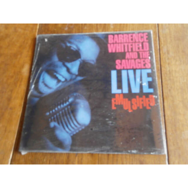 barrence whitfield and the savages Live emulsified