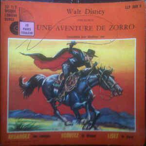 SOUNDTRACK - UNE AVENTURE DE ZORRO (FR. PRESSING 2 TRK VINYL 7 SINGLE 33/3)