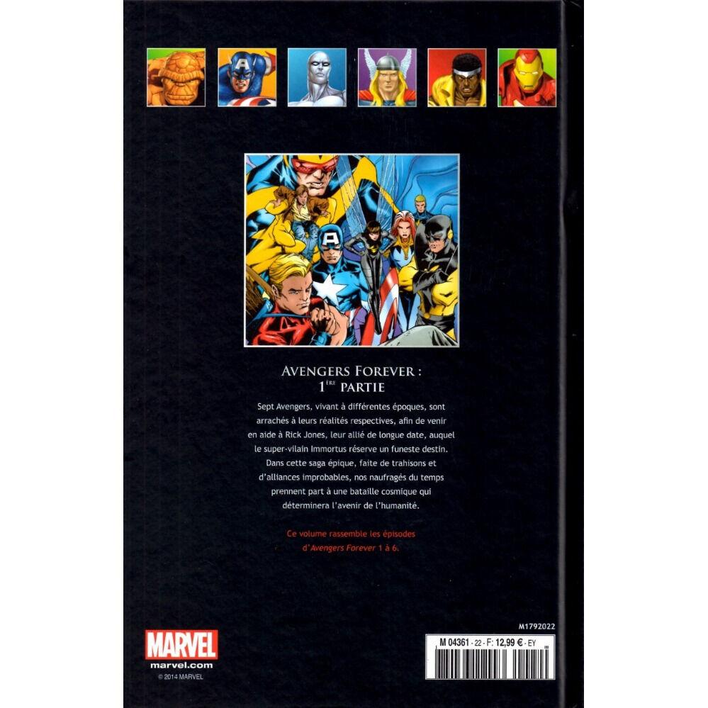 Marvel Comics, La Collection de Référence N°22 (16) Avengers Forever 1ère partie