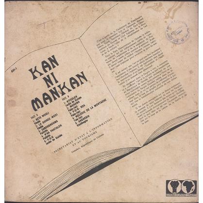 Kan Ni Mankan (various) Sons et échos