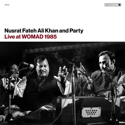 Nusrat Fateh Ali Khan & Party Live At Womad 1985