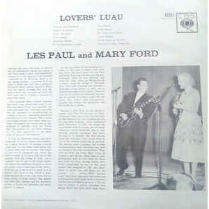 les paul & mary ford lover's ;luau