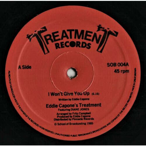 eddie capone's treatment i won't give you up