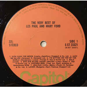 les paul & mary ford the very best of