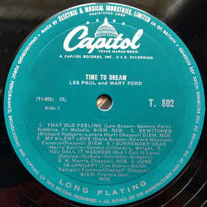 les paul & mary ford time to dream
