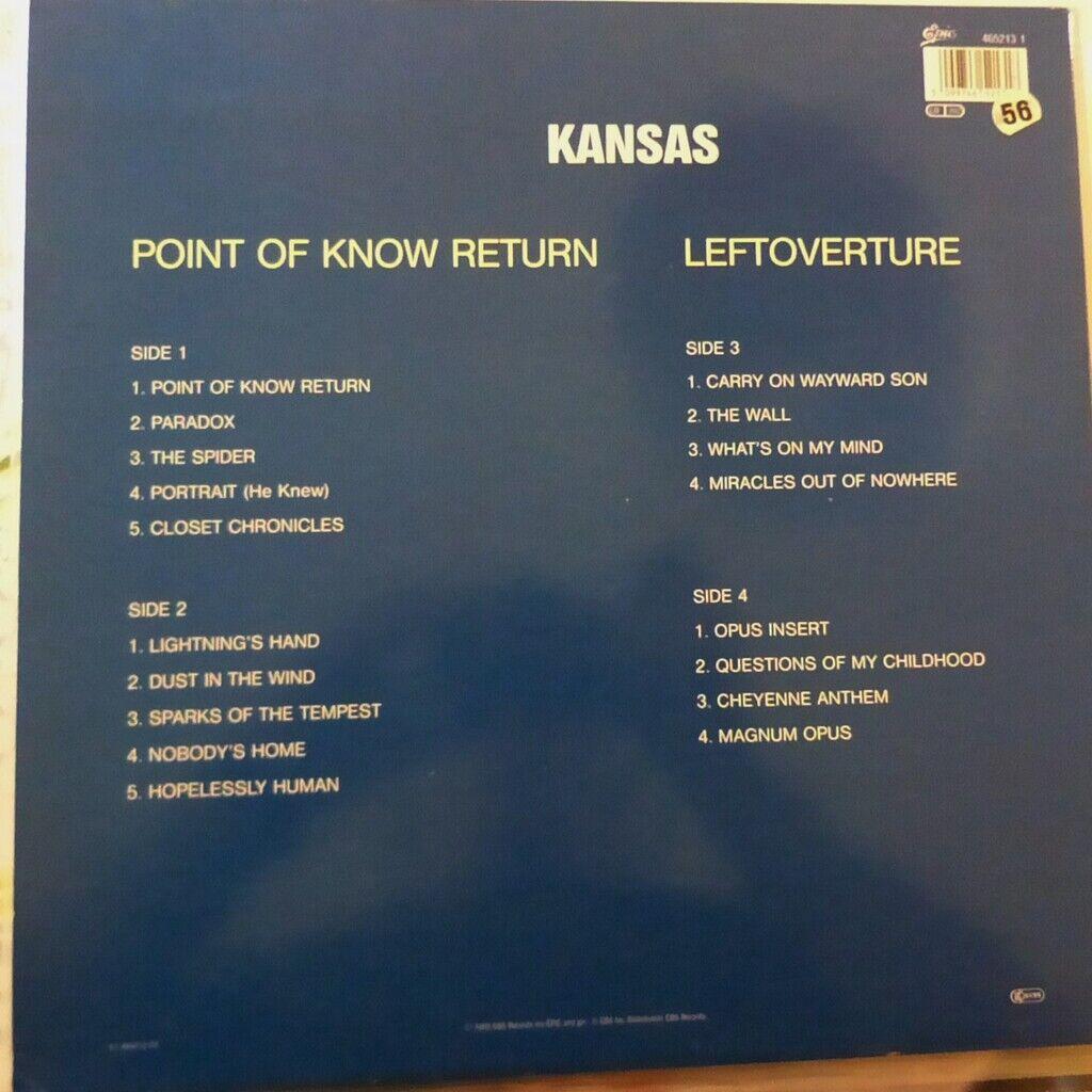 KANSAS POINT OF KNOW RETURN + LEFTOVERTURE