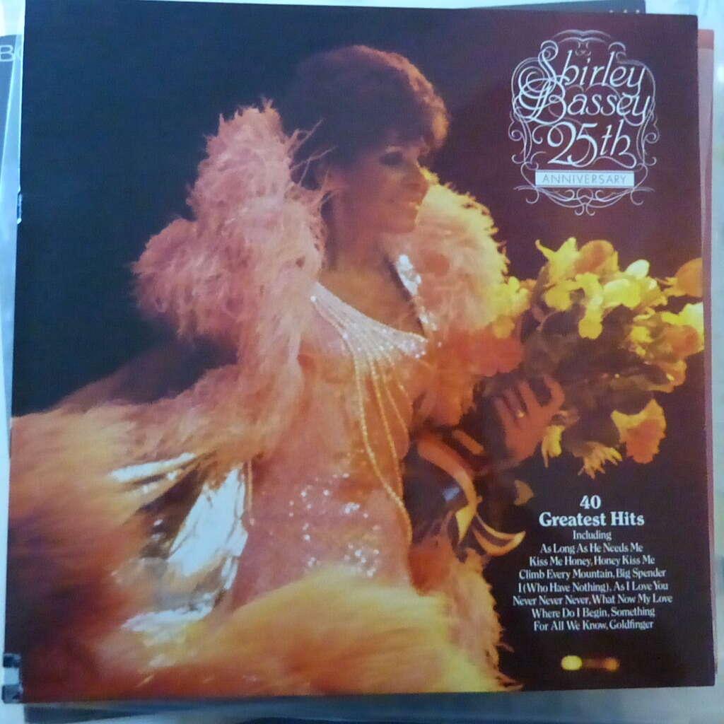 SHIRLEY BASSEY 25TH ANNIVERSARY ALBUM
