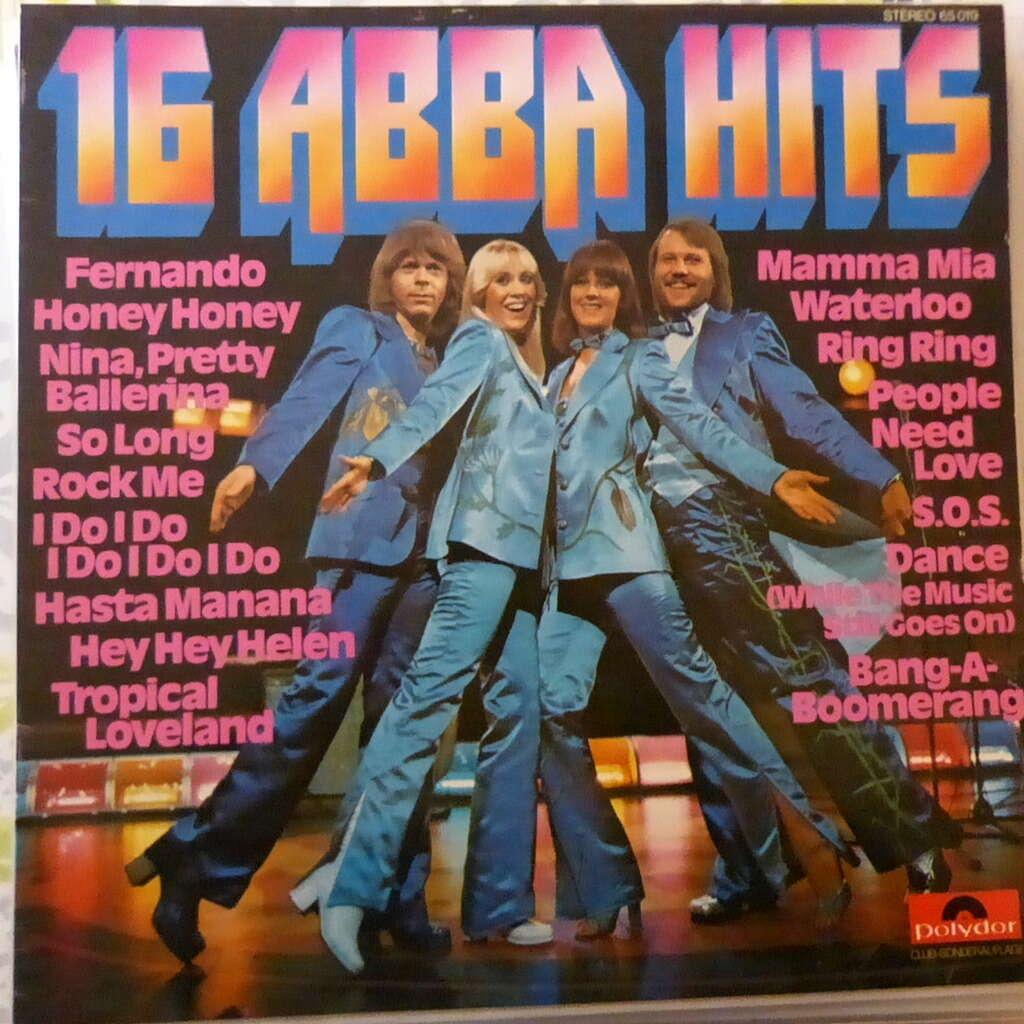 ABBA 16 abba hits