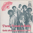 COMMODORES - THREE TIMES A LADY - 45T (SP 2 titres)