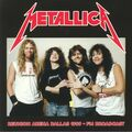 METALLICA - Reunion Arena Dallas 1989 - FM Broadcast (2xlp) - 33T x 2