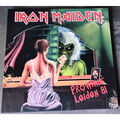 IRON MAIDEN - Prowling Leiden 81 (2xlp) Ltd Edit Coloured Vinyl With Tour Poster -E.U - LP x 2
