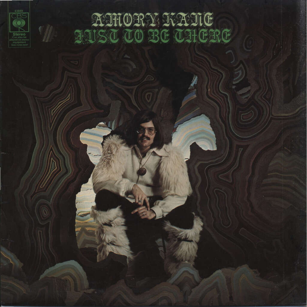 AMORY KANE + Ron Geesin Just To Be There (Psyche Folk + Experimental) ORIGINAL UK / + CD-R