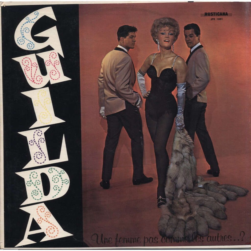 GUILDA ( Jean Guida ) Une Femme Pas Comme Les Autres...? / PROMO / Travesti - transvestite / ORIGINAL