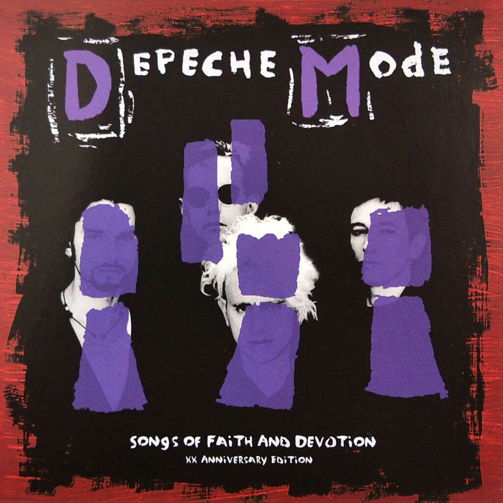 DEPECHE MODE Songs of Faith and Devotion XX Anniversary Edition (Remixes) CD