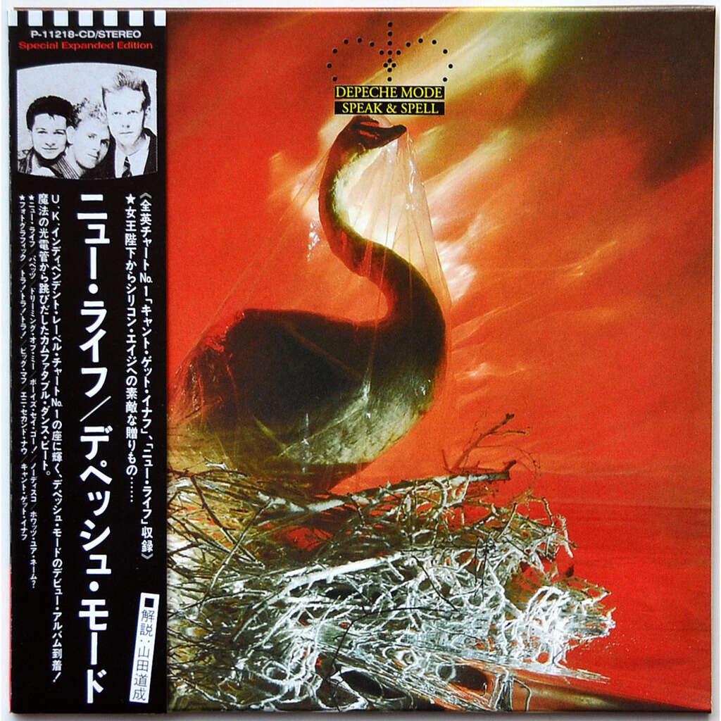 DEPECHE MODE Speak & Spell CD Mini-LP Cardsleeve Japan OBI