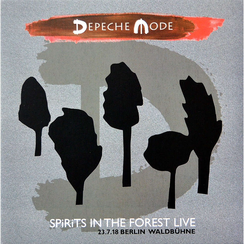 DEPECHE MODE SPiRiTS IN THE FOREST Live at Waldbuhne Berlin Germany 23 July 2018 2CD Digipak