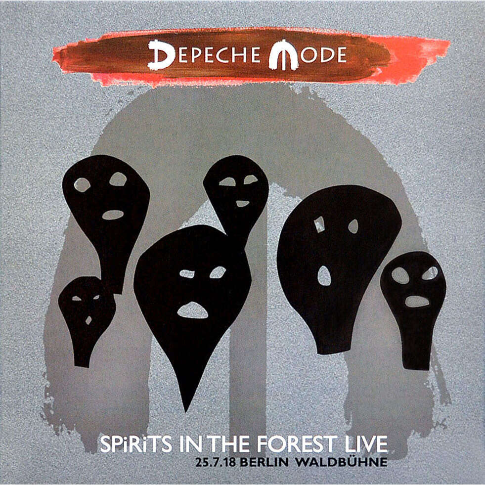 DEPECHE MODE SPiRiTS IN THE FOREST Live at Waldbuhne Berlin Germany 25 July 2018 2CD Digipak