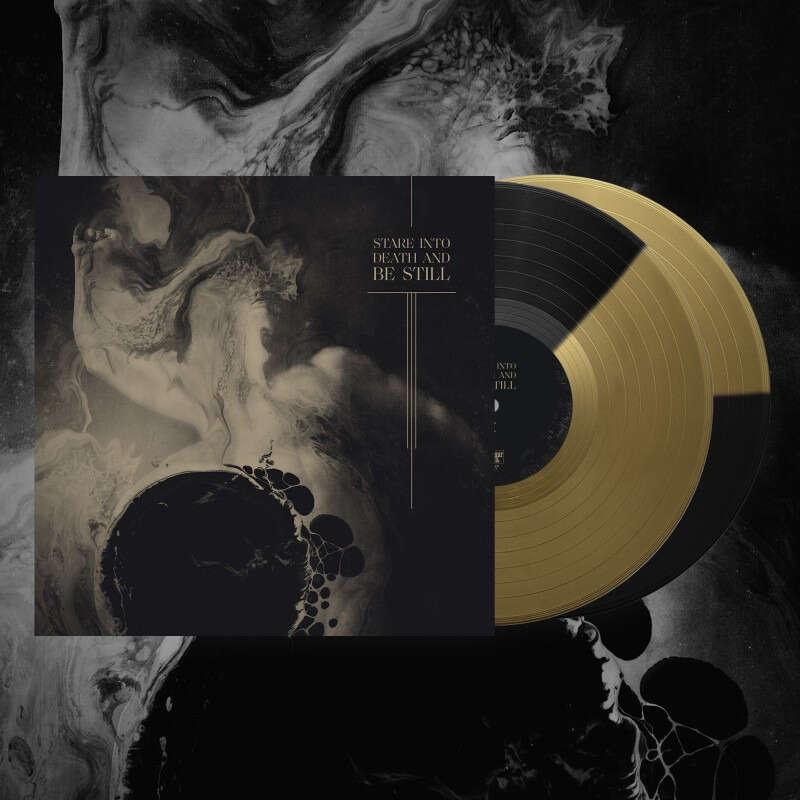 ULCERATE Stare Into Death And Be Still. Gold & Black Vinyl