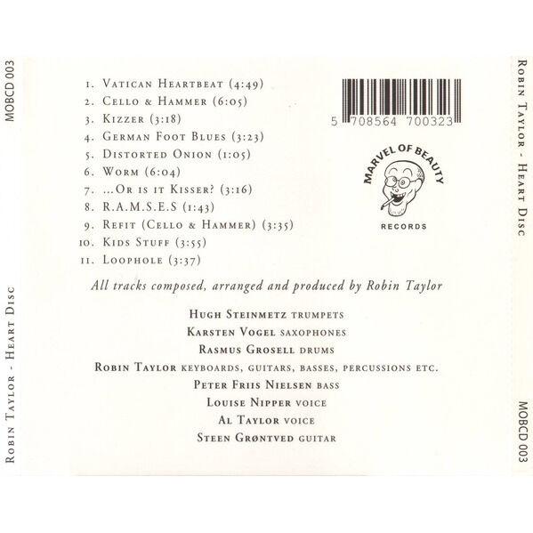 Robin Taylor (2) Heart Disc