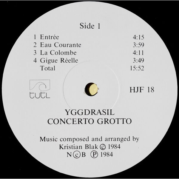 Yggdrasil Concerto Grotto
