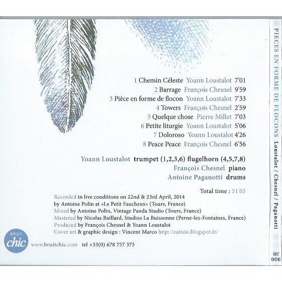 Loustalot / Chesnel / Paganotti Pièces En Forme De Flocons