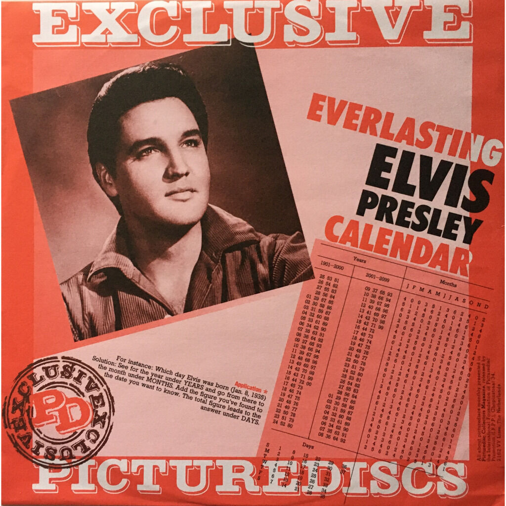 ELVIS PRESLEY - HOUND DOG (DAN. PRESSING 12 VINYL LP PIC/DISC)