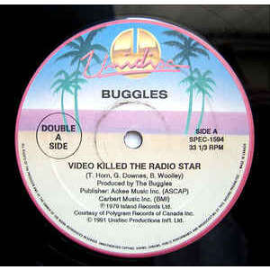 buggles trans-x video killed the radio star / living on video