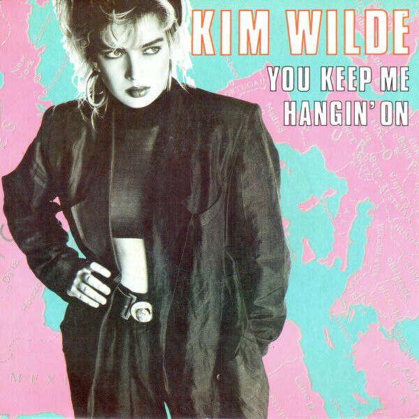 You keep me hangin' on de Kim Wilde, SP chez fcgb3 - Ref ...