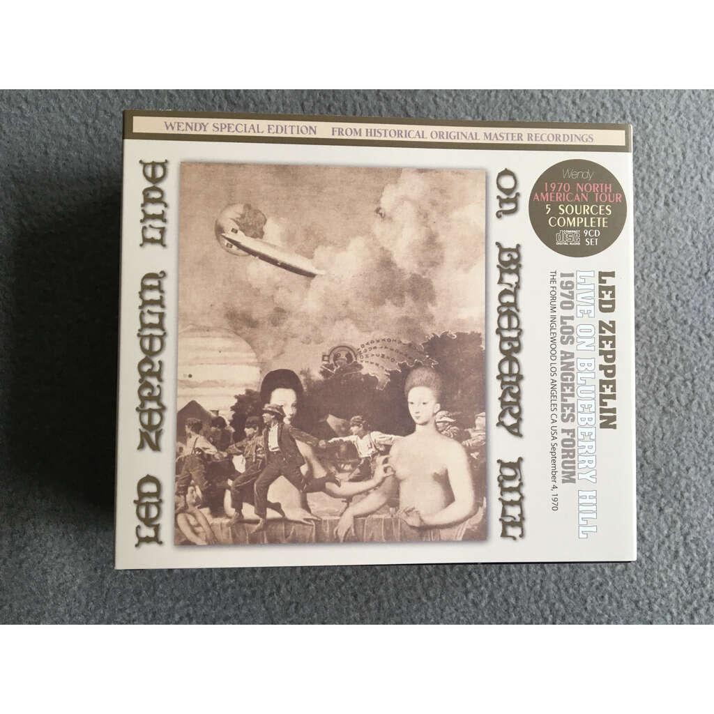 led zeppelin 'Live On Blueberry Hill' - 9 cds