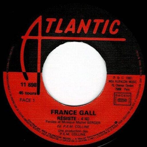 GALL FRANCE resiste / tout pour la musique