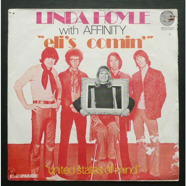 Linda Hoyle With Affinity Eli's Comin' / United States Of Mind