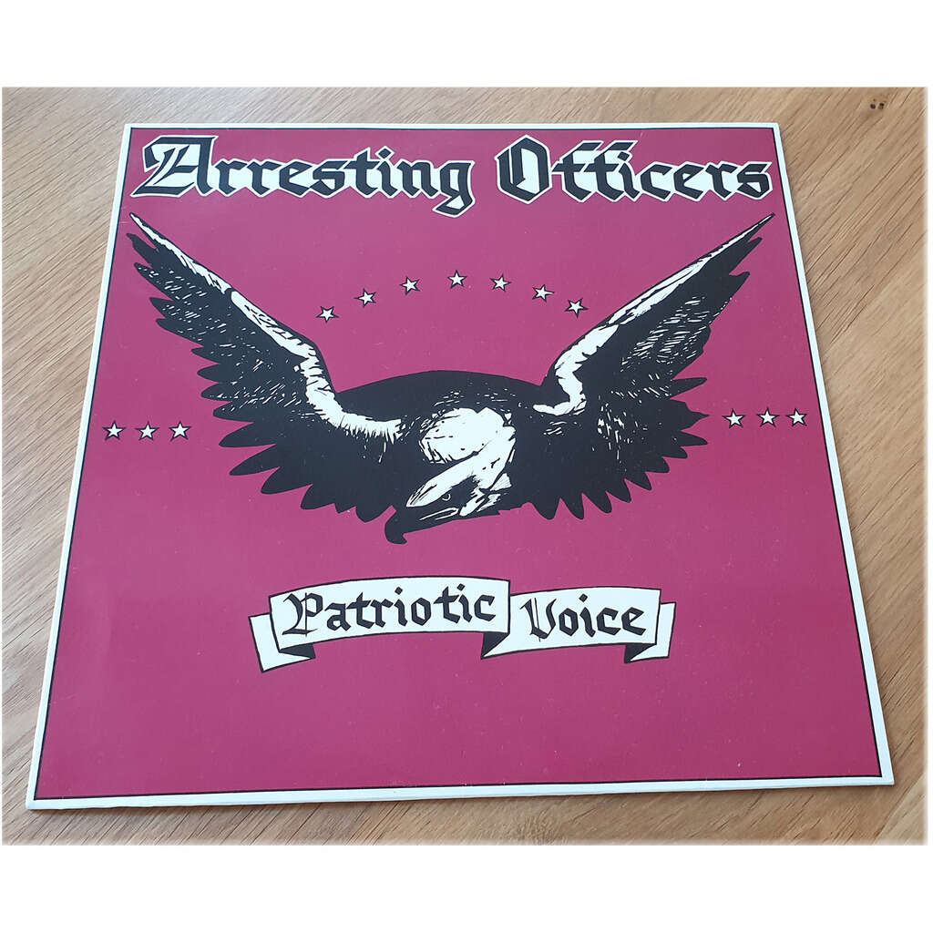 ARRESTING OFFICERS PATRIOTIC VOICE