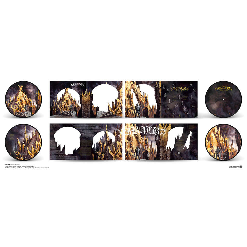 KNIVES OUT RECORDS : xibalba Hasta La Muerte, deluxe reissue - Muerte Edition - 33T x 2