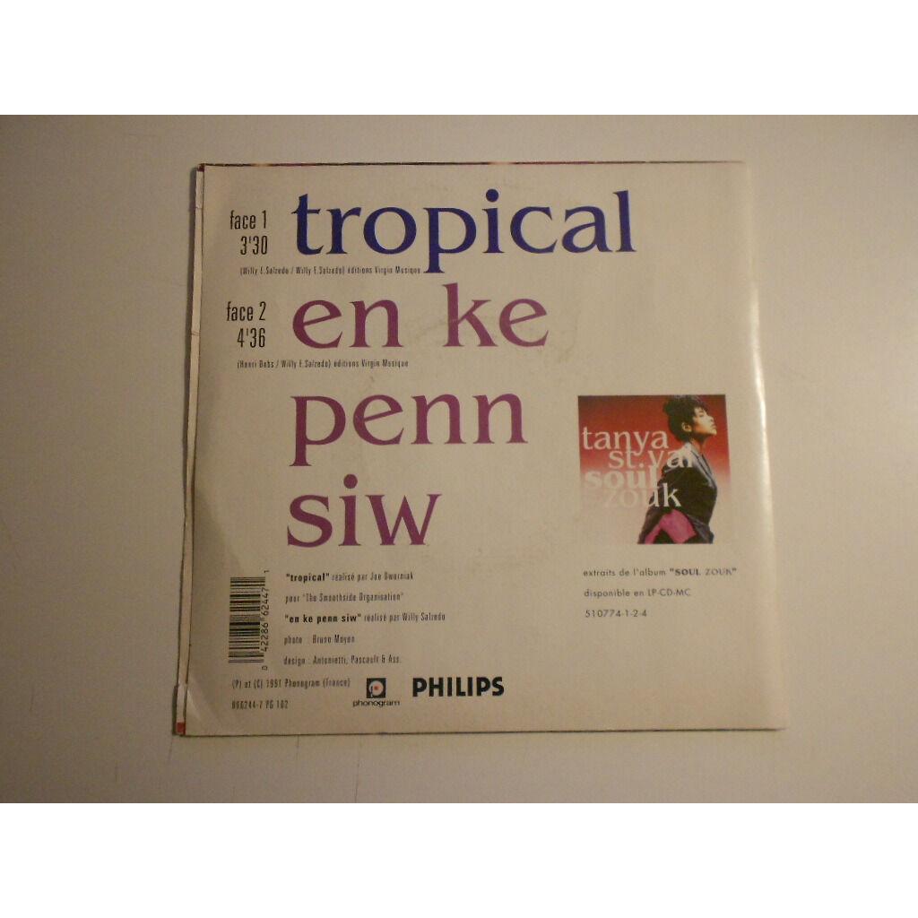 tanya st val tropical § en ke penn siw