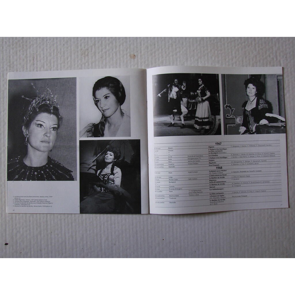 mady mesple un portrait : Donizetti , Schonberg , Kreisler , Mozart , Rossini, Gounod , D. Milhaud , Bizet , Ver