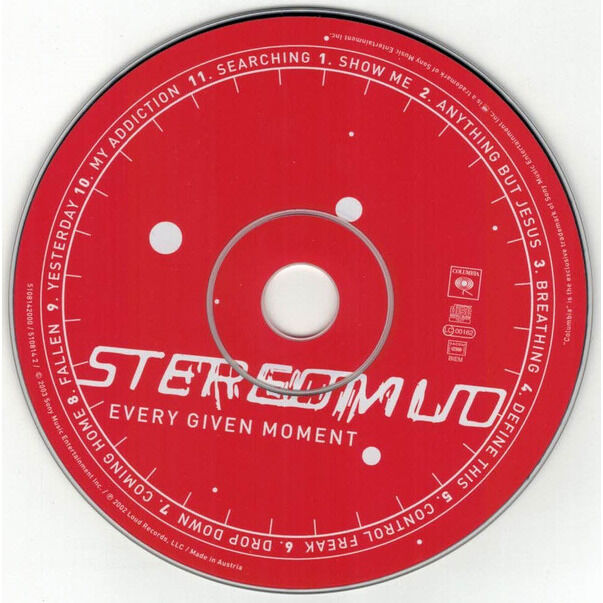 Stereomud Every Given Moment