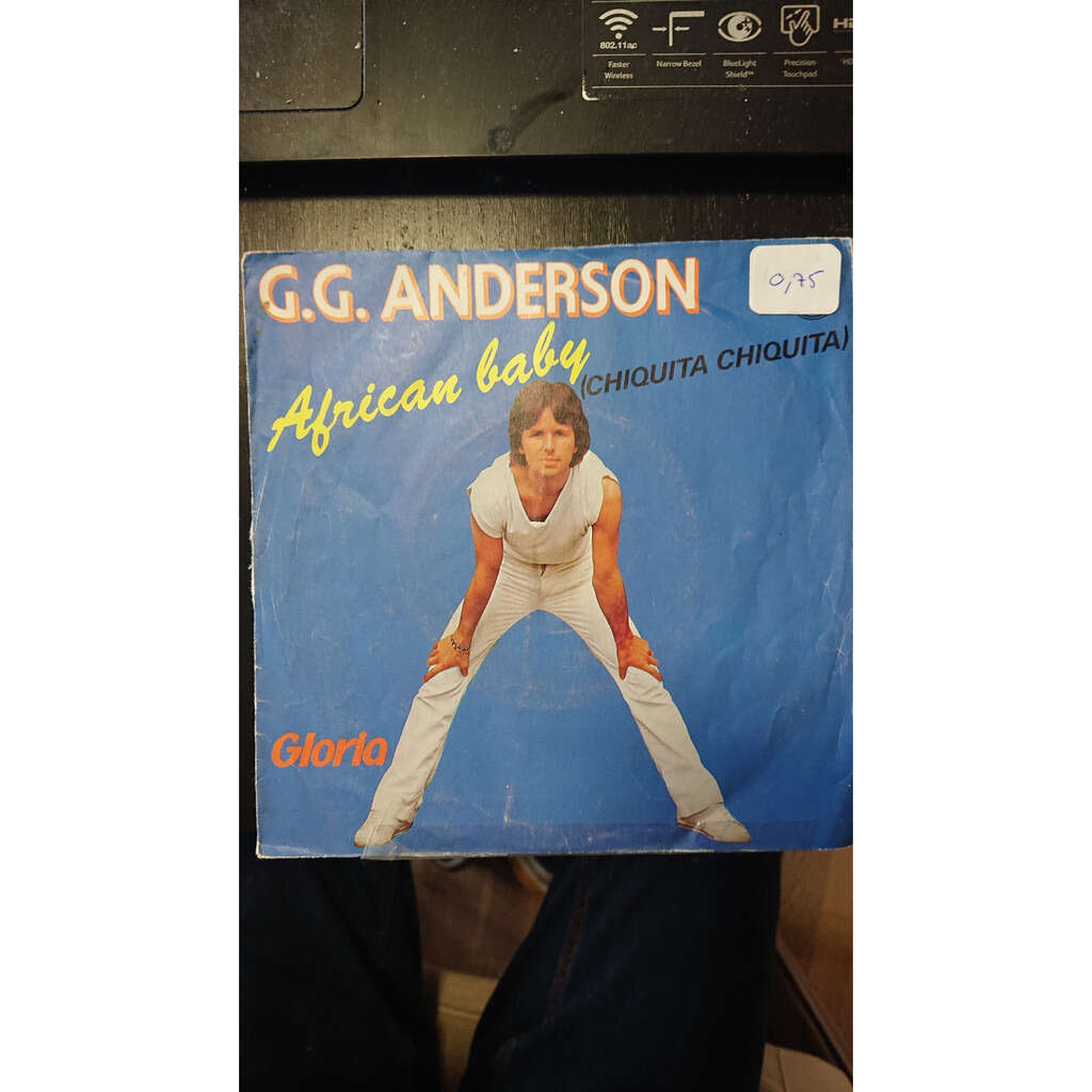 g g anderson african baby