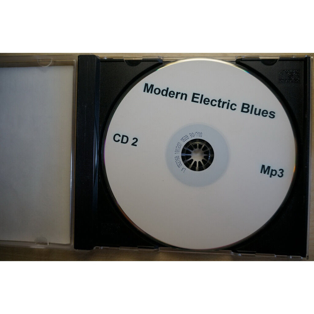 modern electric blues MP3 Collection CD-2
