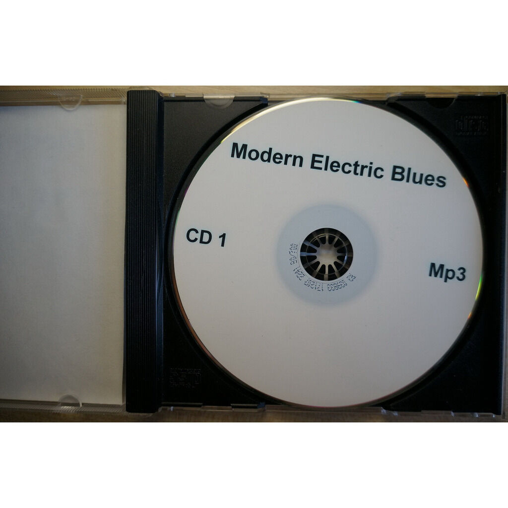 modern electric blues MP3 Collection CD-1