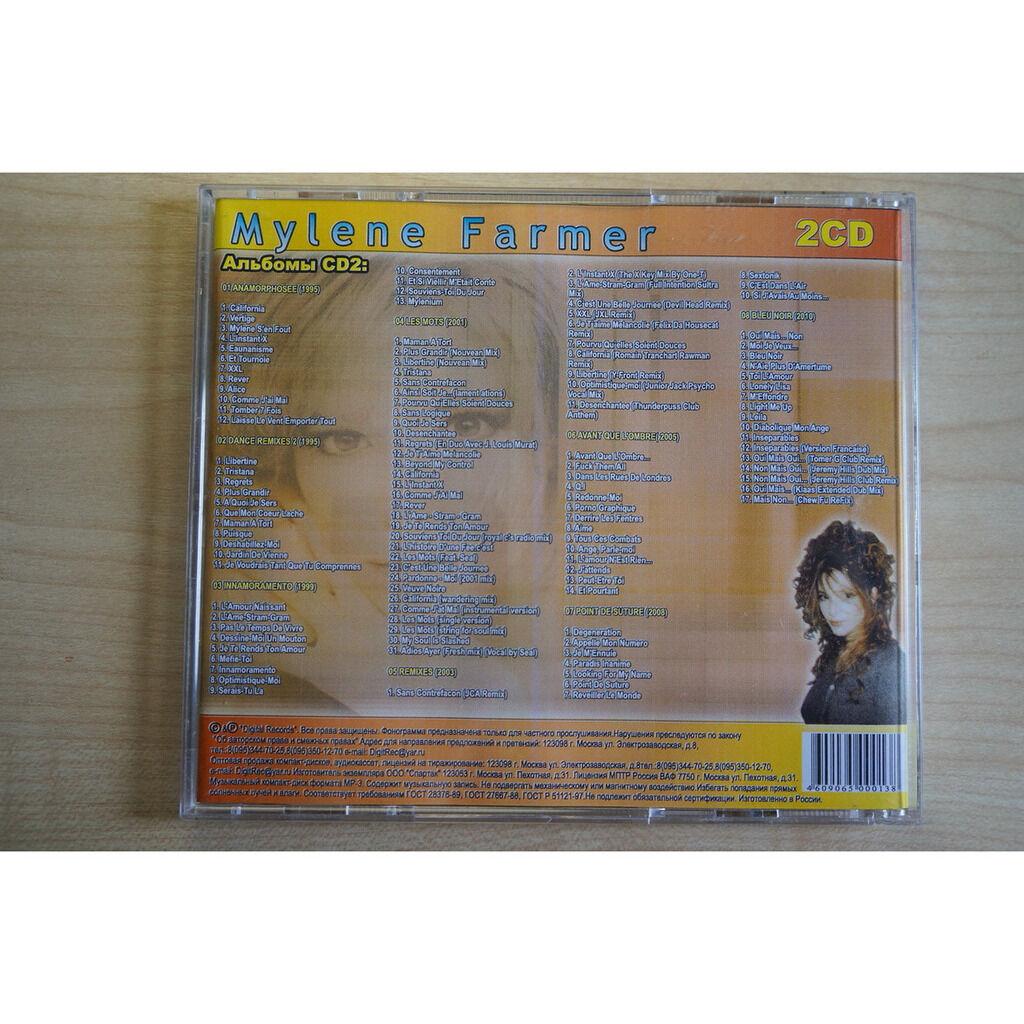 mylene farmer MP3 Collection (2 CD)