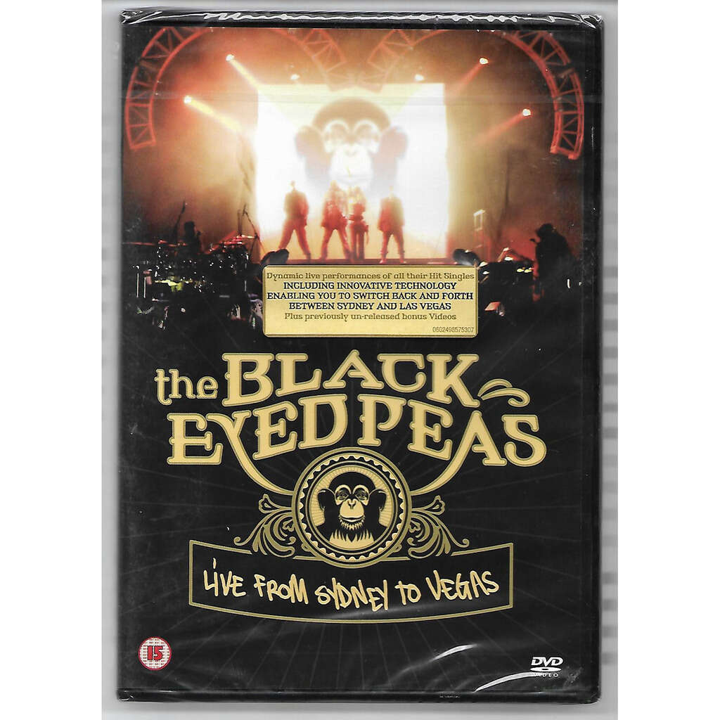 the black eyes peas Live From Sydney To Vegas