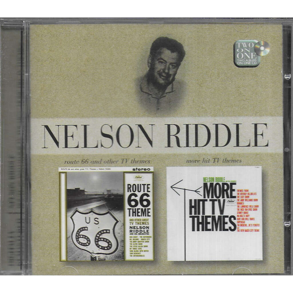 Nelson RIDDLE Route 66 & Other TV Themes & More Hit TV Themes