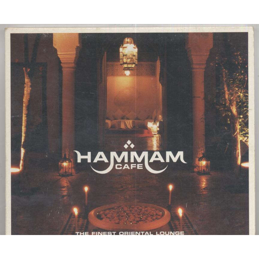 The 1001 Nights Project and Various artists Hammam Cafe - The Finest Oriental Lounge - ( Compilation 10 Tracks )