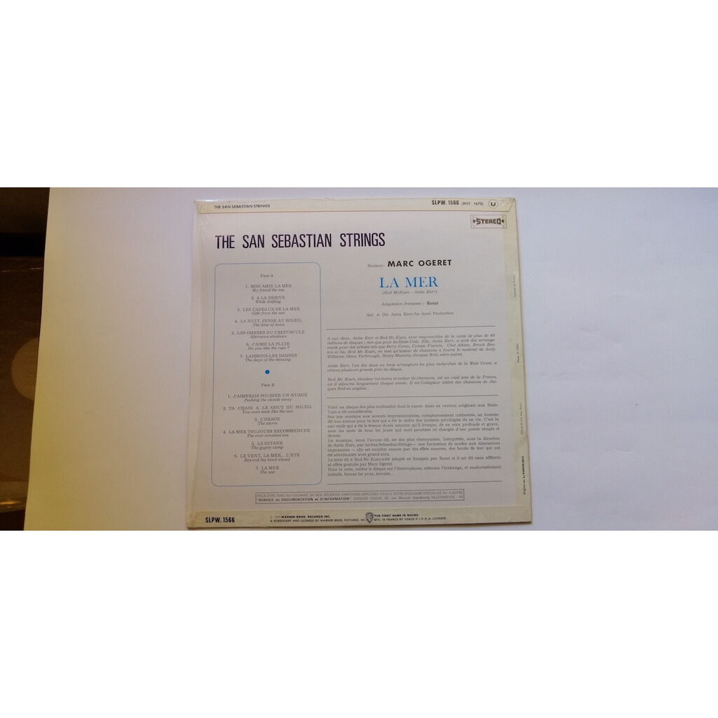 Anita Kerr,Rod McKuen / The San Sebastian Strings La mer