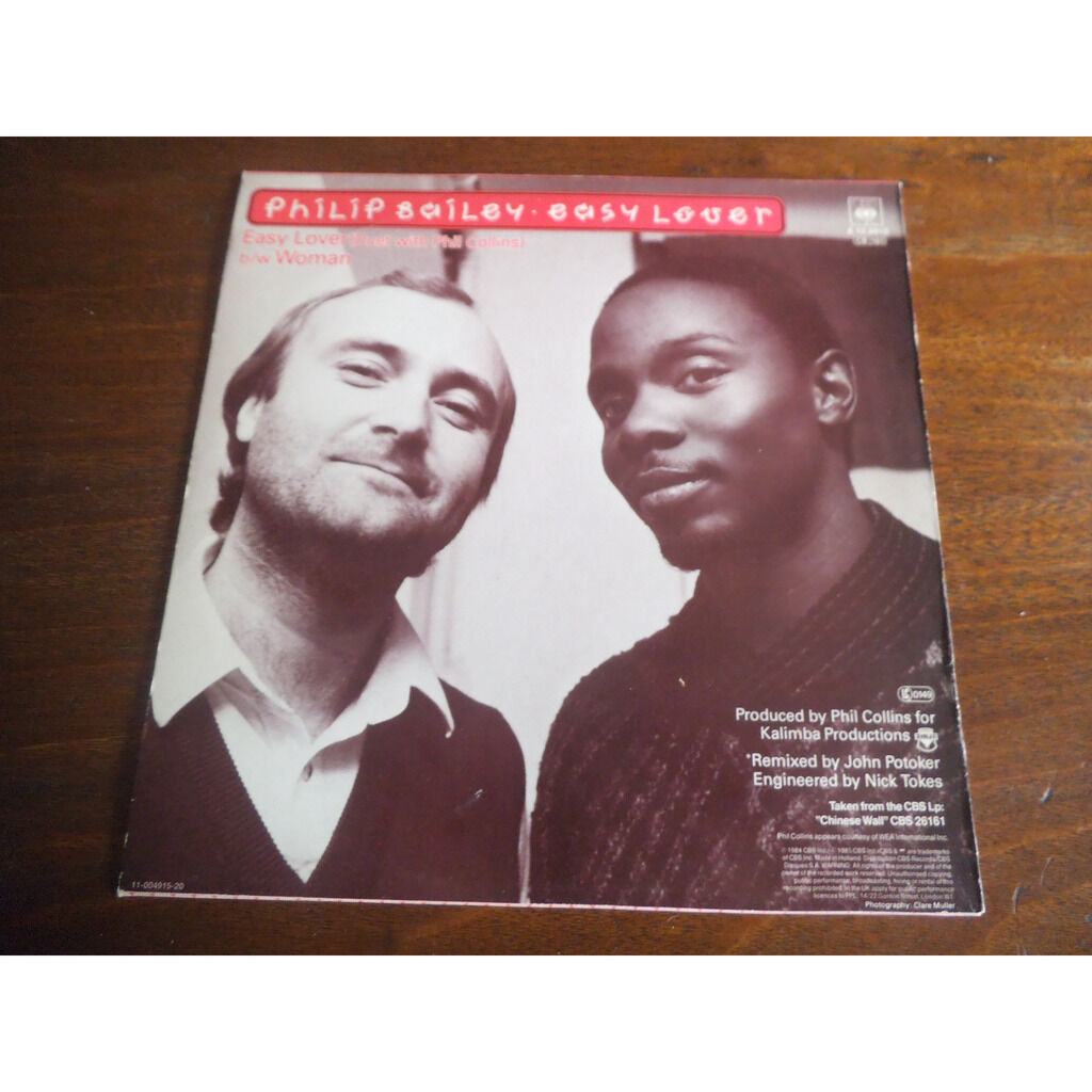 philip bailey & phil collins Easy Lover (duet with phil collins) / Woman