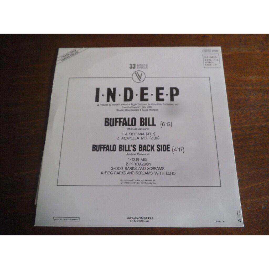 Indeep Buffalo Bill / Buffalo Bill's back side