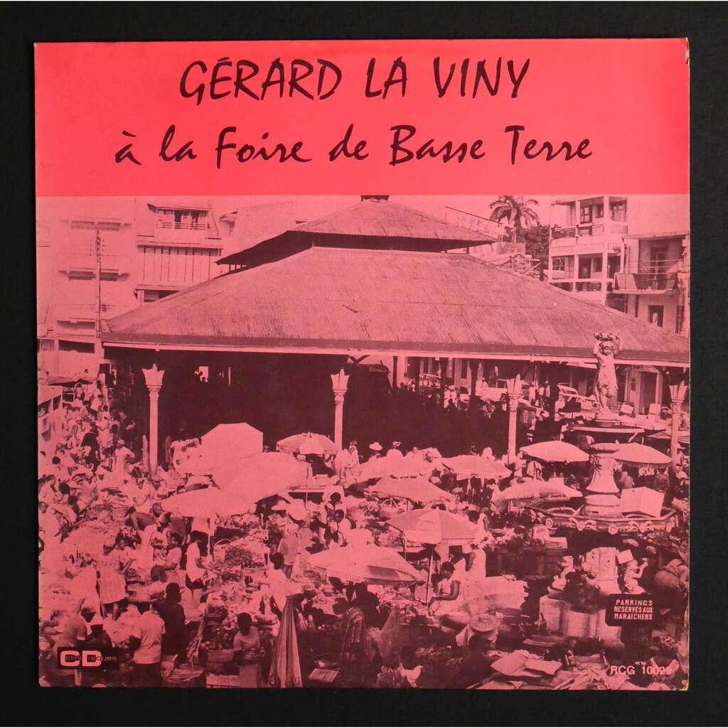 Gérard La Viny À La Foire De Basse Terre